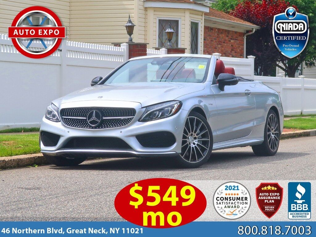 used 2018 Mercedes-Benz C-Class car, priced at $48,495