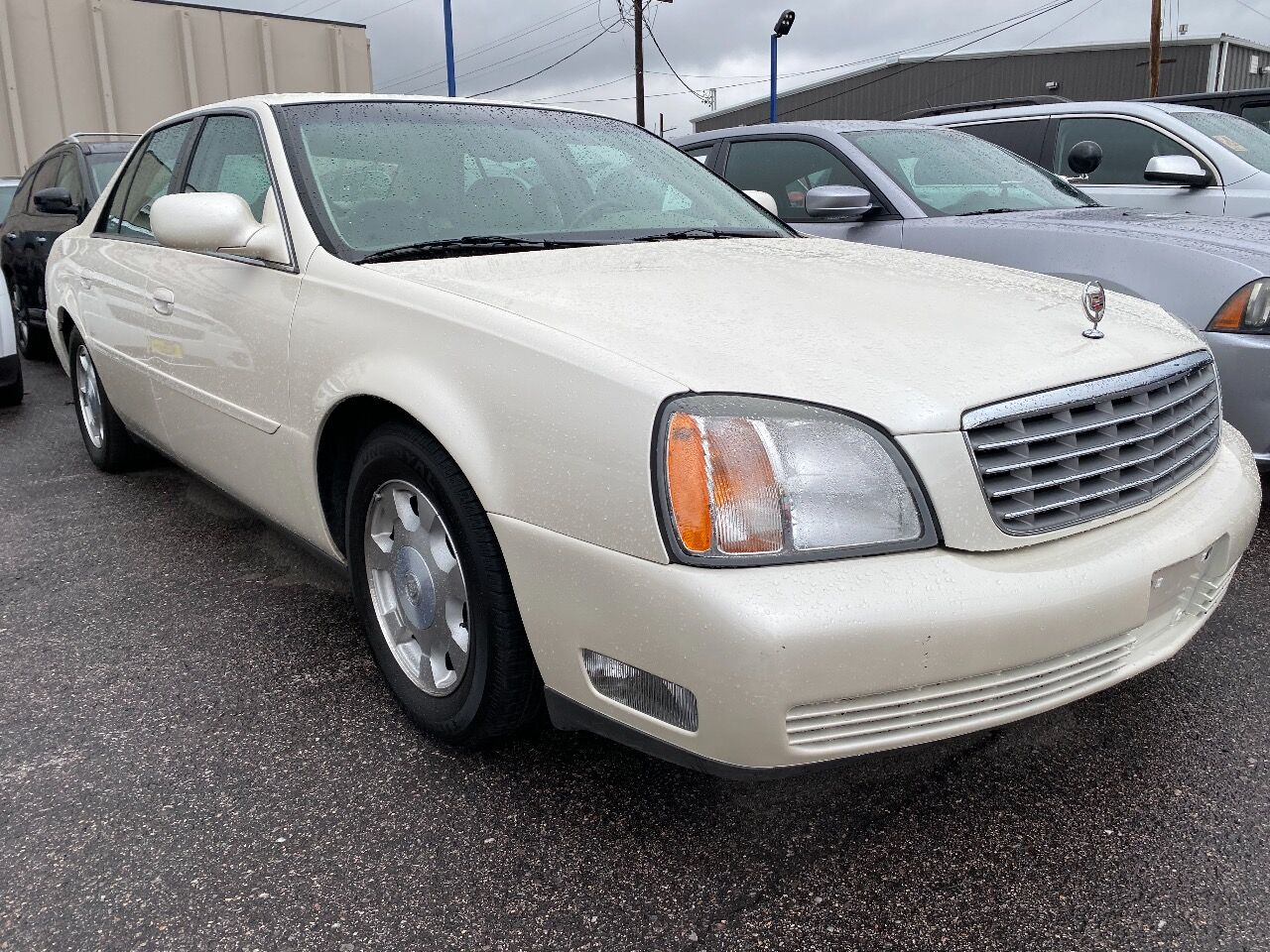 used 2002 Cadillac DeVille car, priced at $9,988