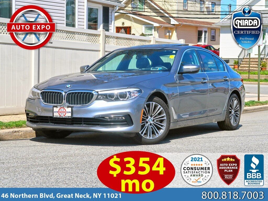 used 2018 BMW 5-Series car, priced at $33,495
