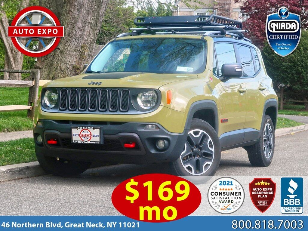 used 2015 Jeep Renegade car, priced at $12,995