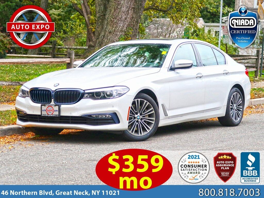 used 2018 BMW 5-Series car, priced at $31,995