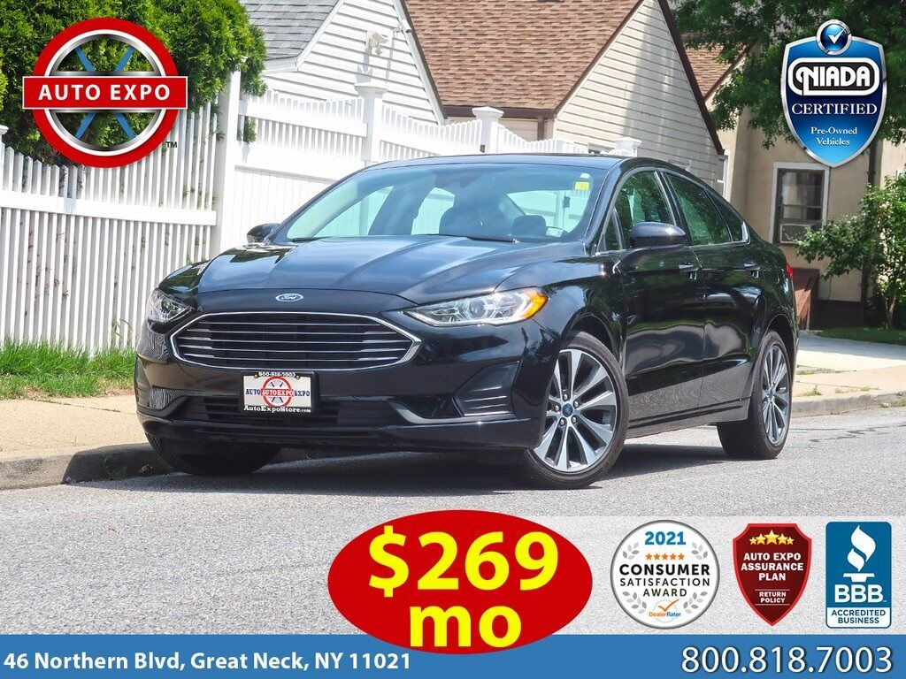 used 2020 Ford Fusion car, priced at $20,995